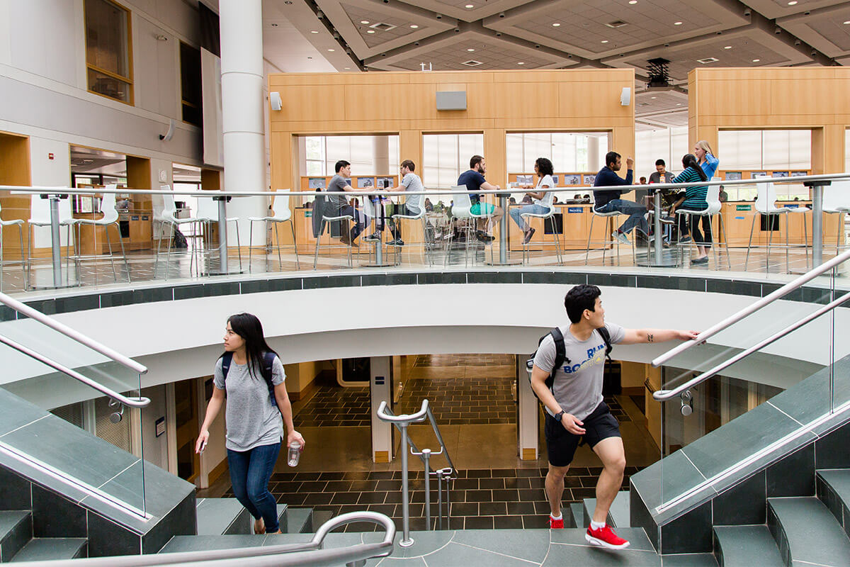 Students at Duke Fuqua University